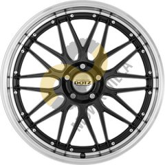 DOTZ Revvo  9.5x19 5x112  ET25 Dia70.1 Black Polished