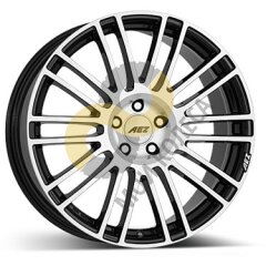 AEZ Strike 9x20 5x112  ET35 Dia70.1 Black Polished