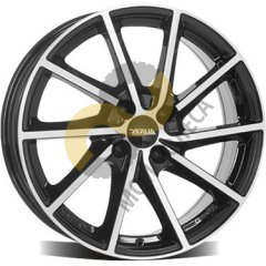 Alutec Singa 6x15 5x112  ET43 Dia57.1 Diamond Black Front Polished
