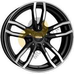 Alutec Drive 7.5x17 5x120  ET37 Dia72.6 Diamond Black Front Polished